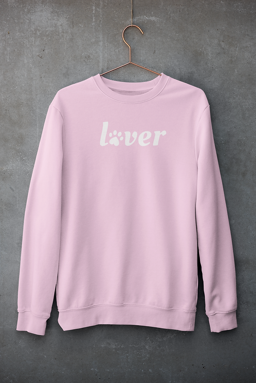 Lover Crewneck Pink X The Rescue Chain