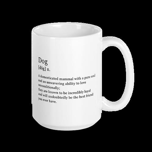 Definition of Dog Mug