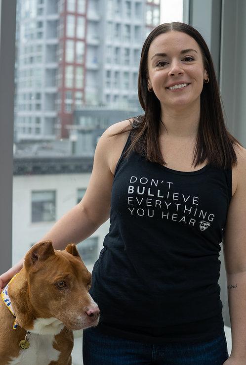 Bulliever Women's Tank X HugABull
