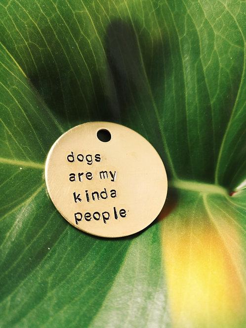 Dogs Are My Kinda People Keychain X CCRezQ's