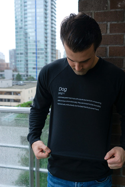 Definition of Dog™ Terry Crew - Black