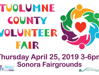 Volunteer Fair in Sonora Expects Over 75 Organizations