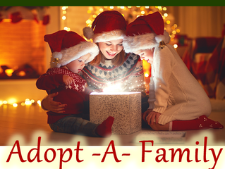 Adopt-A-Family Needs Adoptees