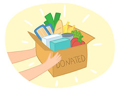 bigstock-Food-Donation-Box-Vector-With--