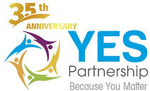 YESLogo with TAGLINE color 35 Anniversar