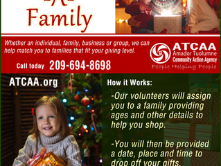 Holiday Adopt-A-Family Seeks Gift Recipients, Donors
