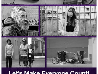 """VOLUNTEERS SOUGHT FOR 2019 """"HOMELESS POINT IN TIME"""" COUNT"""