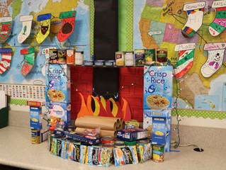 Columbia Elementary Students Help Fight Hunger in Tuolumne County
