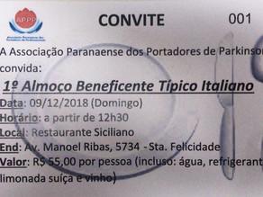 Almoço Italiano na APPP em Curitiba