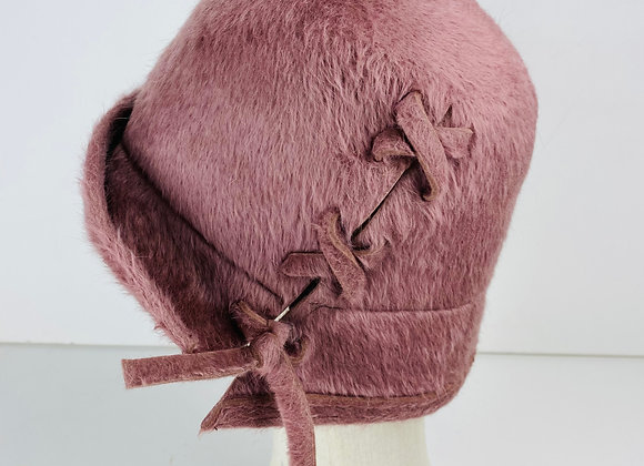 Lace Up Cloche