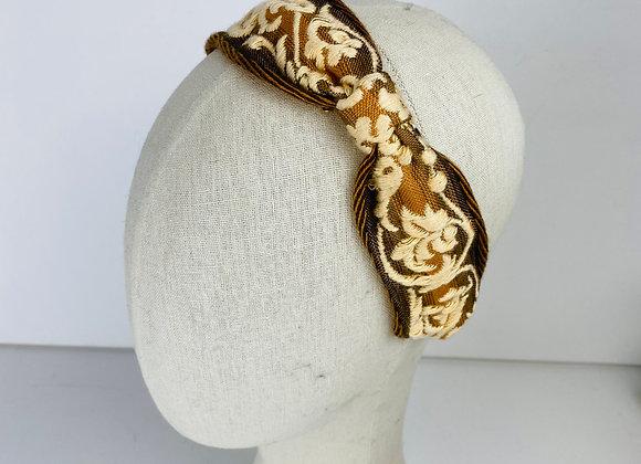 Vintage Ribbon knot Headband