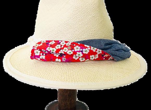 Fedora Mask Trim Hat