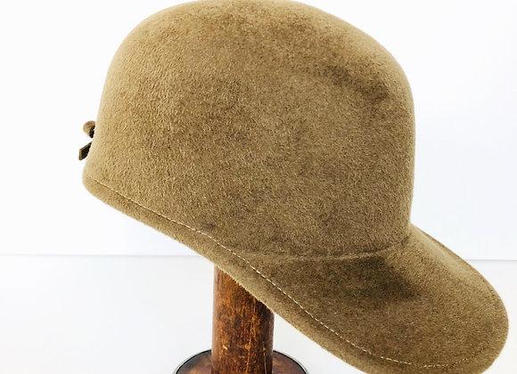Velour baseball cap