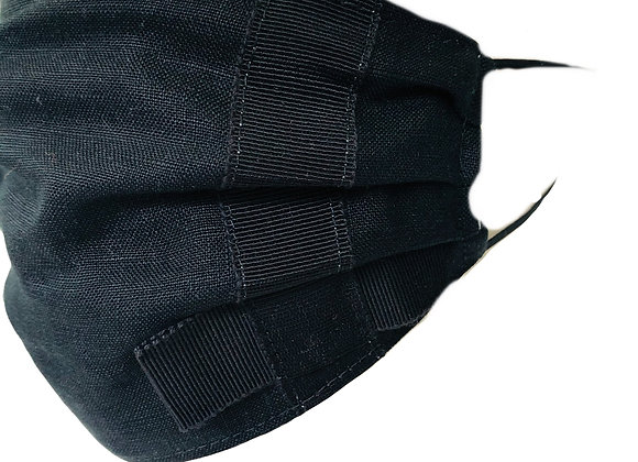 Flat Bow Tailored Face Covering