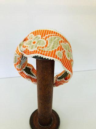 Brocrade ribbon headband