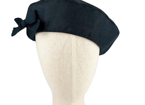 Silk Tweed Beret