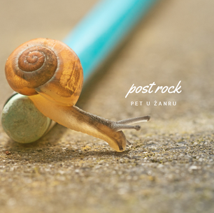 Pet u žanru: post rock