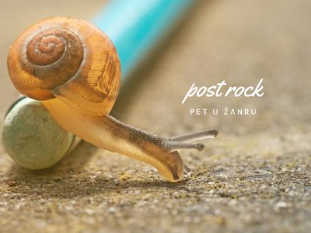 Pet u žanru: post rock