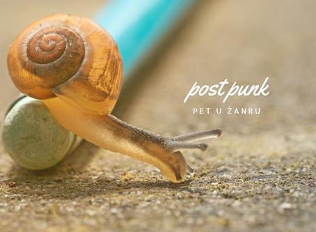 Pet u žanru: post punk