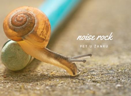 Pet u žanru: noise rock