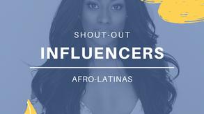 5 importantes influencers de belleza afrolatinas