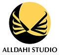 Lodo de Alldahi Studio, perteneciente a la ilustradora dominicana Dahiana Peralta   Alldahiana.