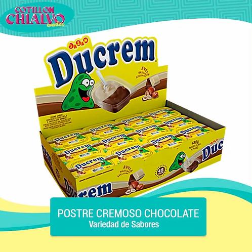 """Postre Cremoso Chocolate """"Ducrem"""""""