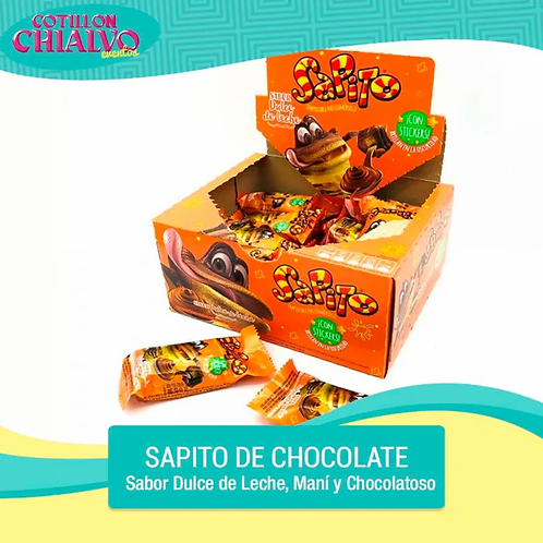 Sapito de Chocolate