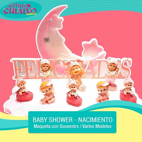 Maqueta para Baby Shower