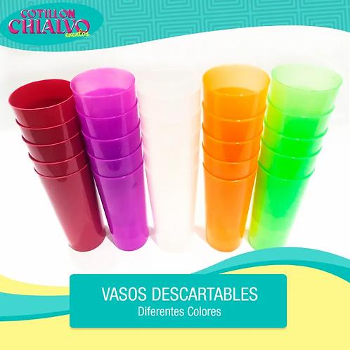"""Vasos descartables """"Trago Largo"""""""