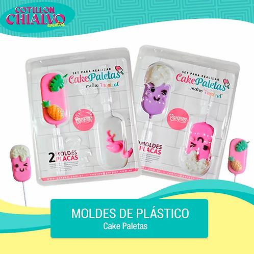 "Placa para Bombones ""Cake Paletas"""
