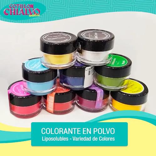 Colorante en Polvo Liposolubles