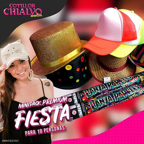 Minipack Fiesta para 10 Personas   Premium