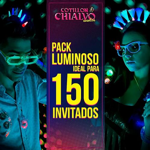 PACK LUMINOSO 150 INVITADOS