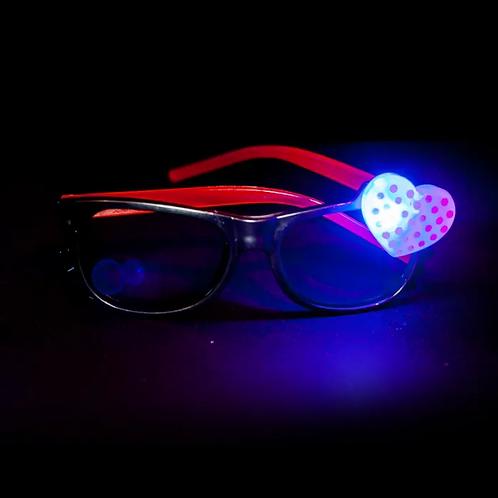 "Anteojo LED ""Corazón"""