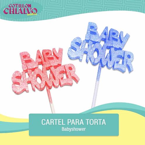 "Adorno para Torta ""Baby Shower"""