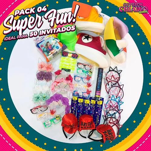 Pack 04 Super Fun! para 50 Invitados