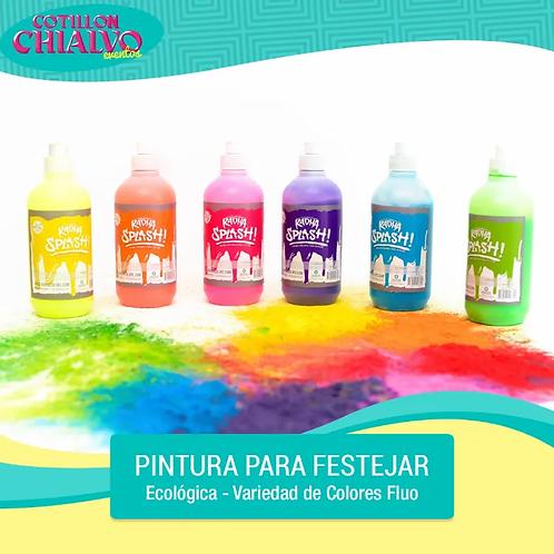 "Pintura para Festejar Ecológica ""Radha Splash!"""