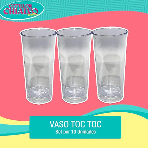 Set Vasitos Toc Toc x 10