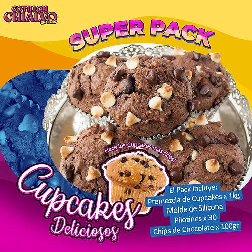 "Pack ""Cupcakes Deliciosos"""