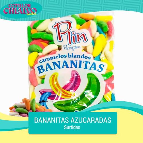 """Caramelo Bananitas Azucaradas """"Plin"""""""
