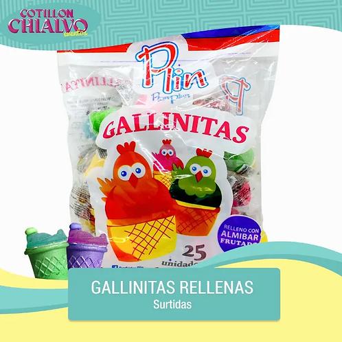 "Gallinitas Rellenas ""Plin"" x 25u"