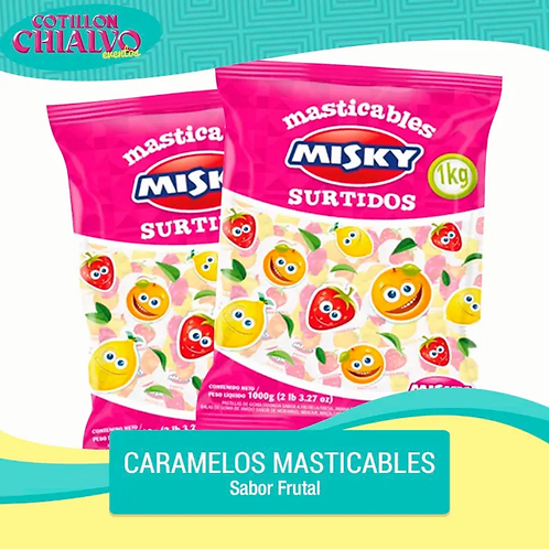 Caramelo Masticable Misky
