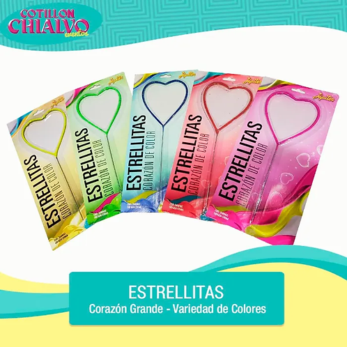 "Estrellita de Corazón Grande ""Jupiter"""