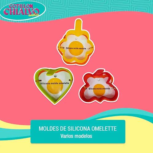 Moldes de Silicona Omelette