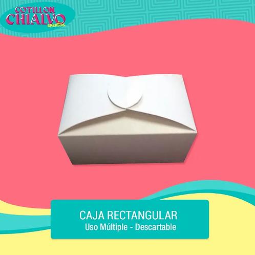 Caja Rectangular para Cupcake