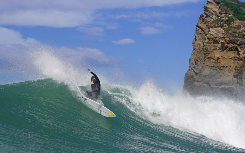 Wilson & Co media - Hank Gaskell Droping the wallet onthe East Coast of New Zealand