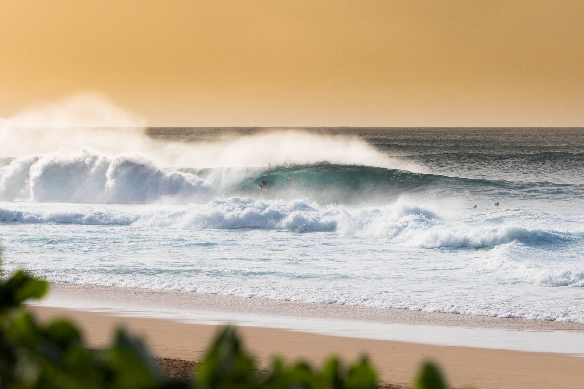 Wilson & Co Media - Late Afternoon Glory at Pipeline