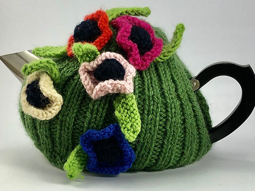 Field of Poppies Cosy 2-4 cup pot