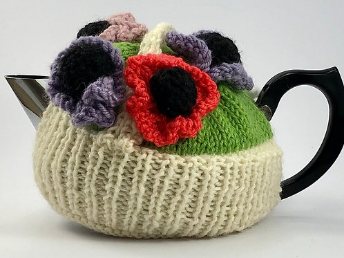 Flower Basket Cosy 2-4 cup pot